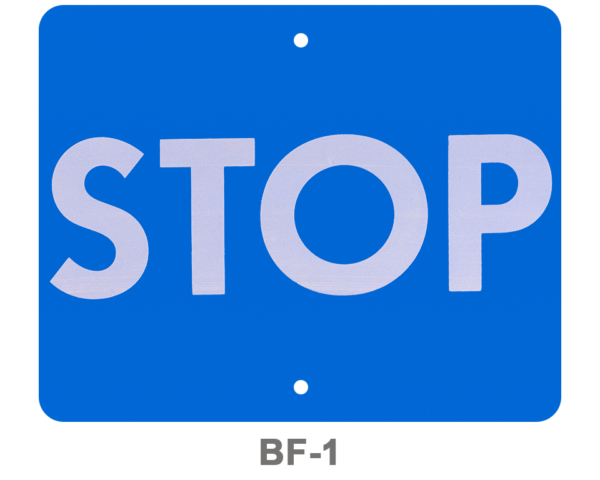 BF-1_STOP_SIGNAL FLAG_BLUE