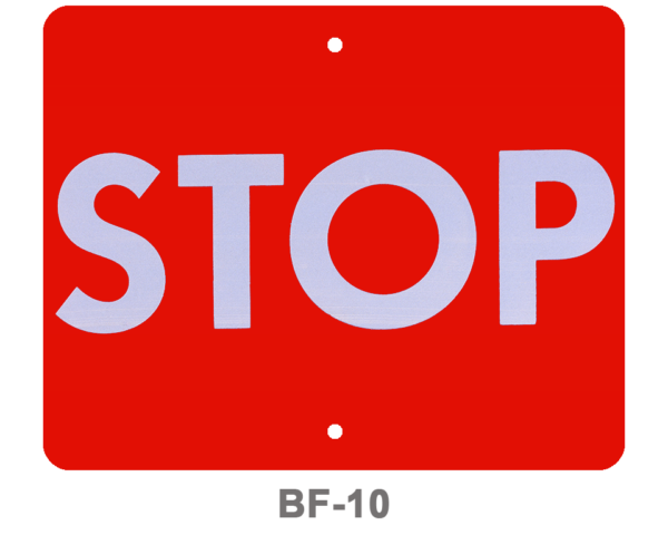 BF-10_SIGNAL FLAG_STOP_RED