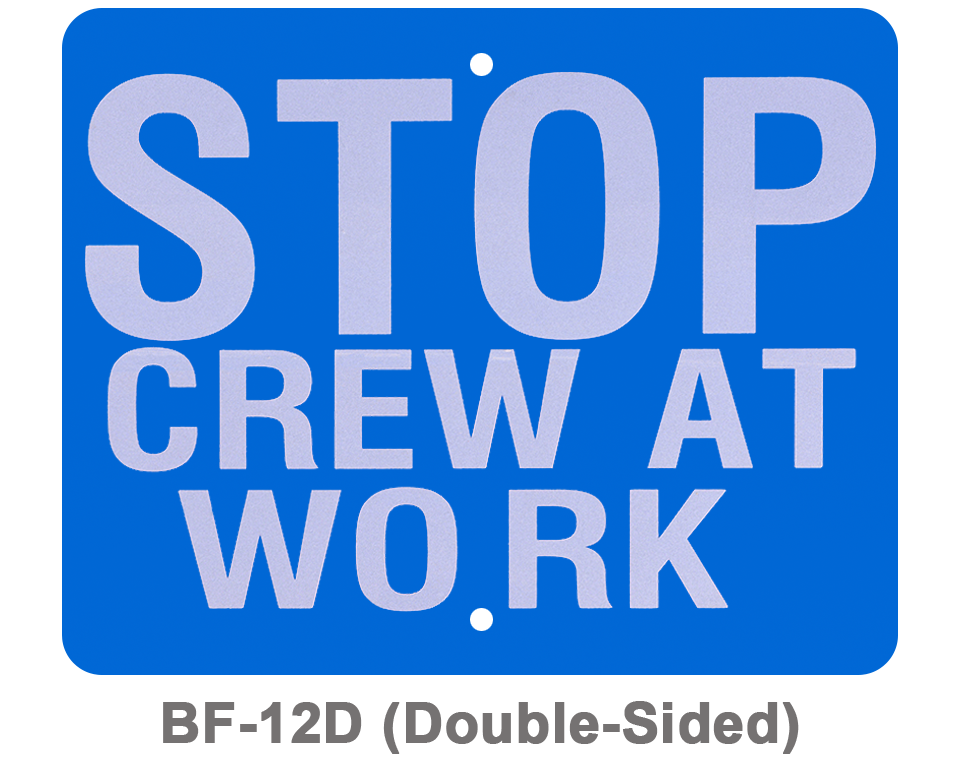BF-12D_STOP CREW AT WORK_SIGNAL FLAG_BLUE
