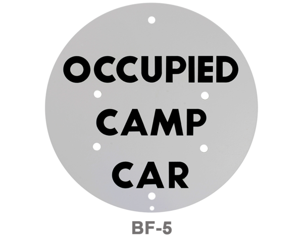 BF-5_OCCUPIED CAMP CAR_SIGNAL FLAG_GRAY
