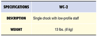 WC-2 Specs Table
