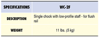WC-2F Specs Table